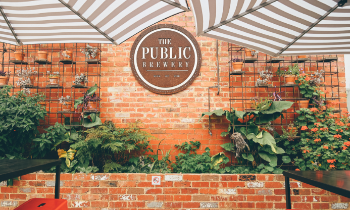 The Public Brewery in Croydon